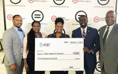 AT&T Contributes $30,000 to the Urban League of Louisiana