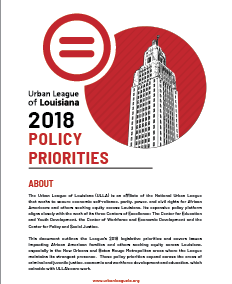 Policy Priorities 2018