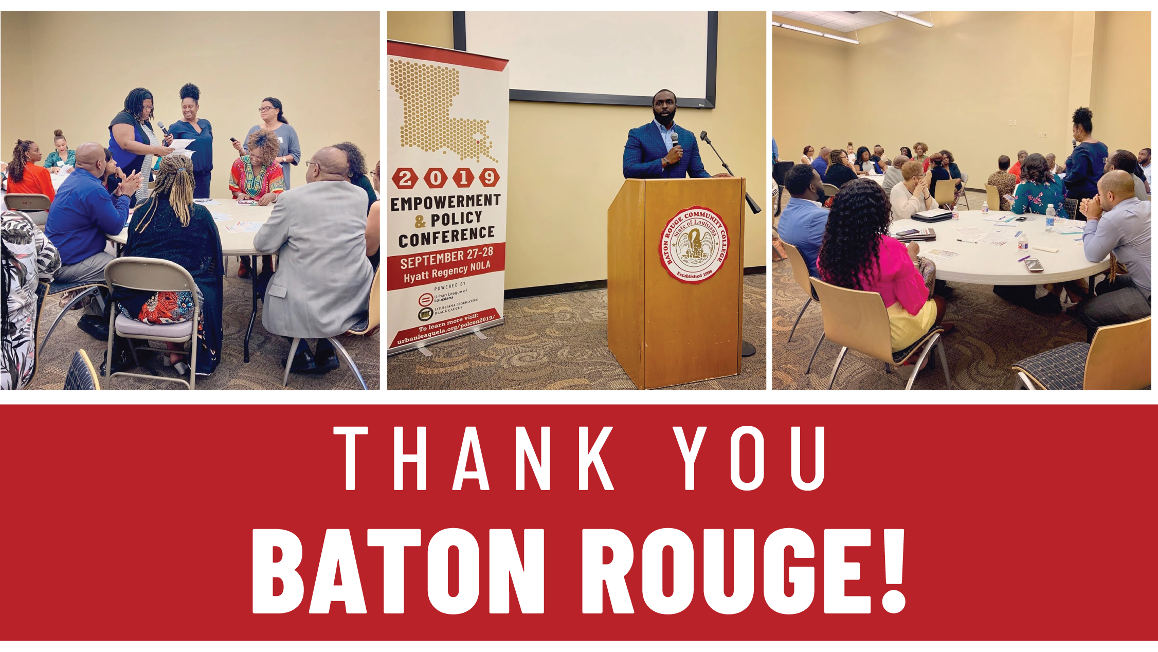 Thank you Baton Rouge