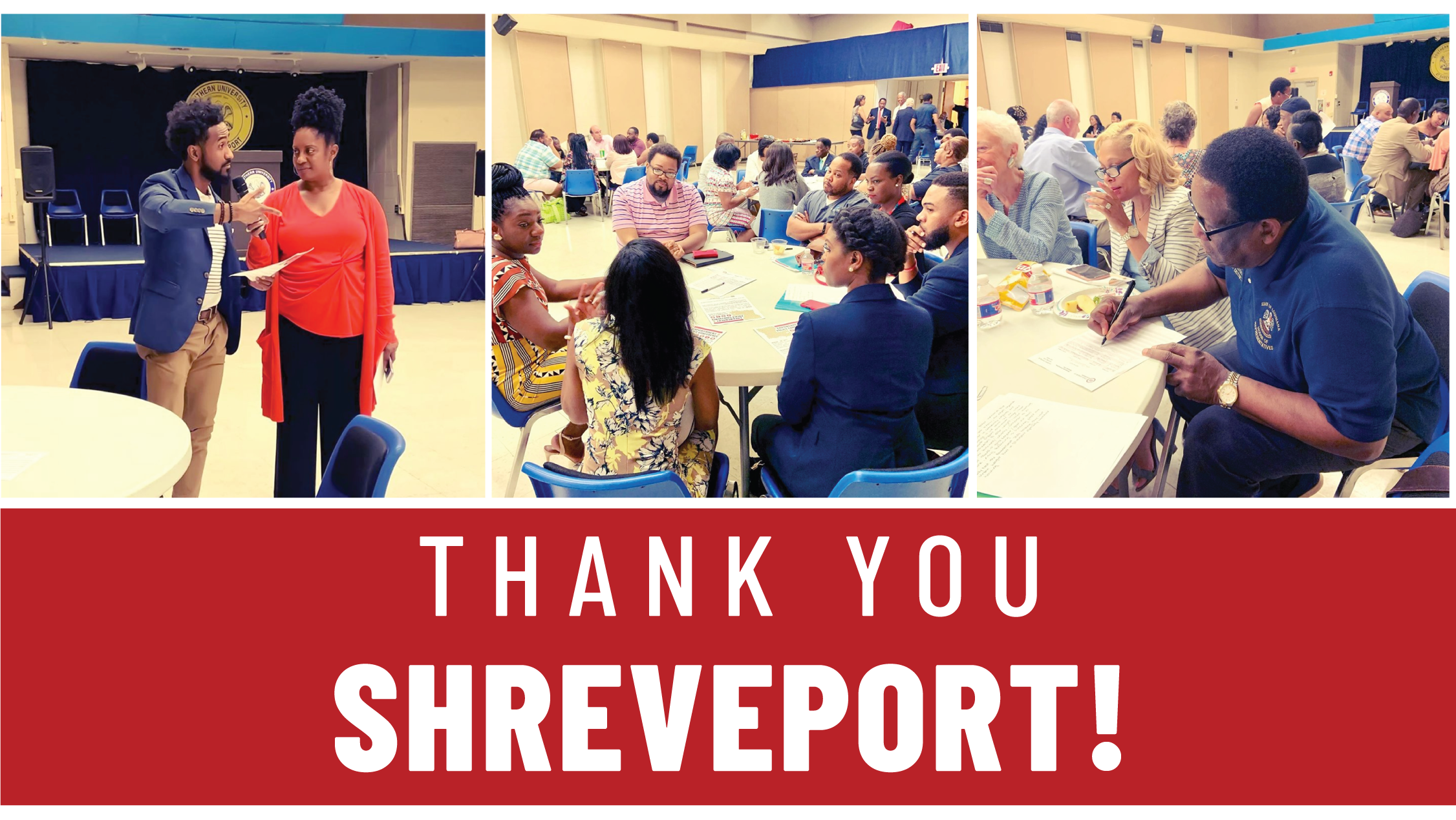 Thank you Shreveport