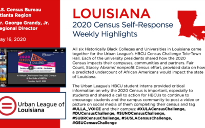 Urban League of Louisiana Recognized by U.S. Census Bureau for Efforts