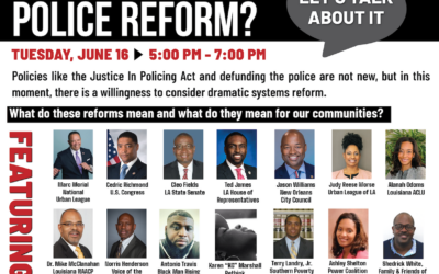 Police Reform? Let's Talk About It
