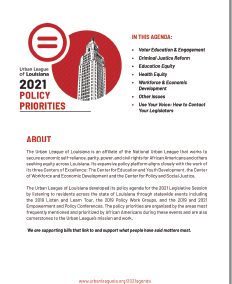 Policy Priorities 2021