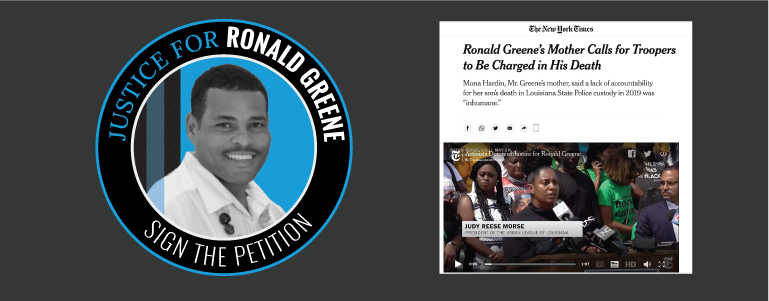 Justice for Ronald Greene – June 4, 2021 Update
